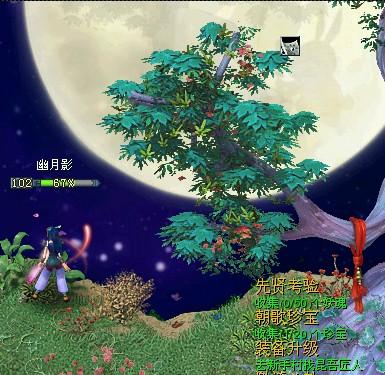 定情园的月亮很圆