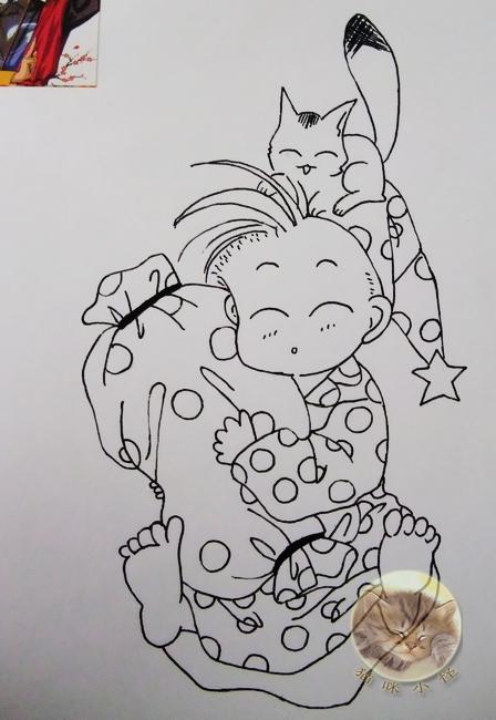 【寻找纳兰真】猫咪小怪 (以前的一些手绘图)