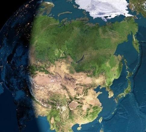 卫星云图观华夏图片