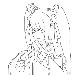 可爱花仙子简笔画简单的