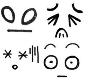 手绘表情——写日记必备