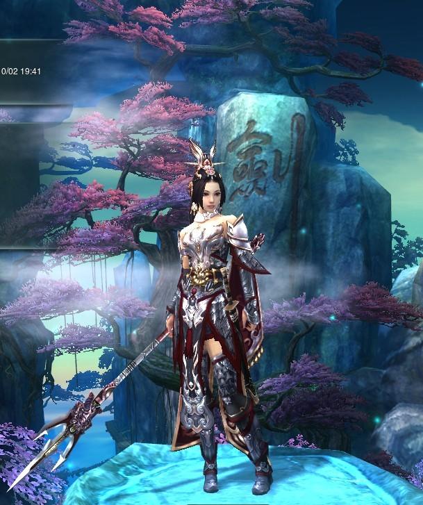 藏剑成女定国_剑网3藏剑破虏外观图片分享