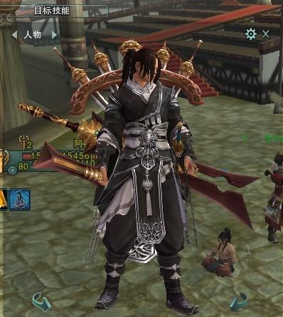 藏剑成男手绘图