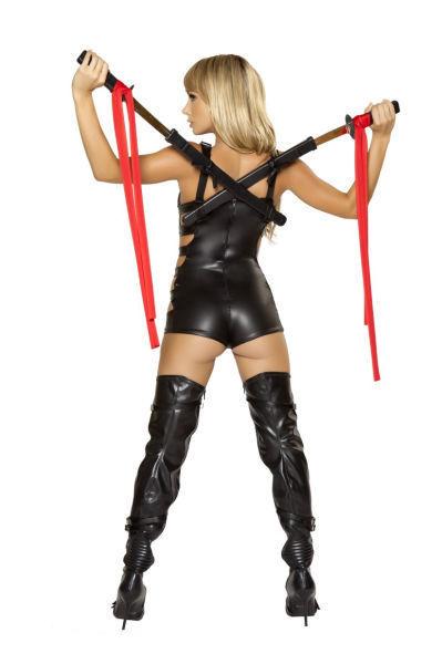 性感美女万圣节cosplay