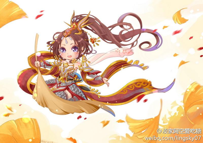 剑三明教q版手绘