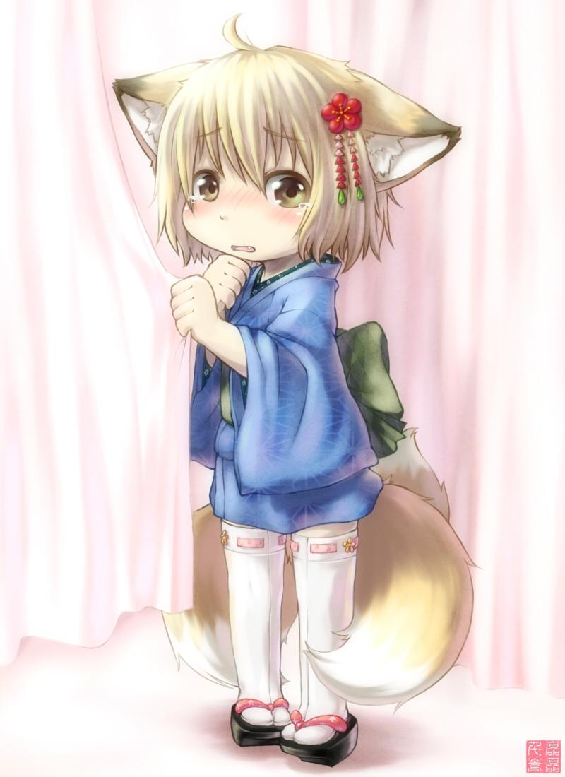 原创狐耳娘_狐耳娘动漫图片图片照片_狐耳娘动漫图片图片