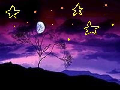 古风月亮聊天背景图片