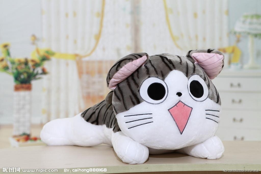 可爱的q版猫咪