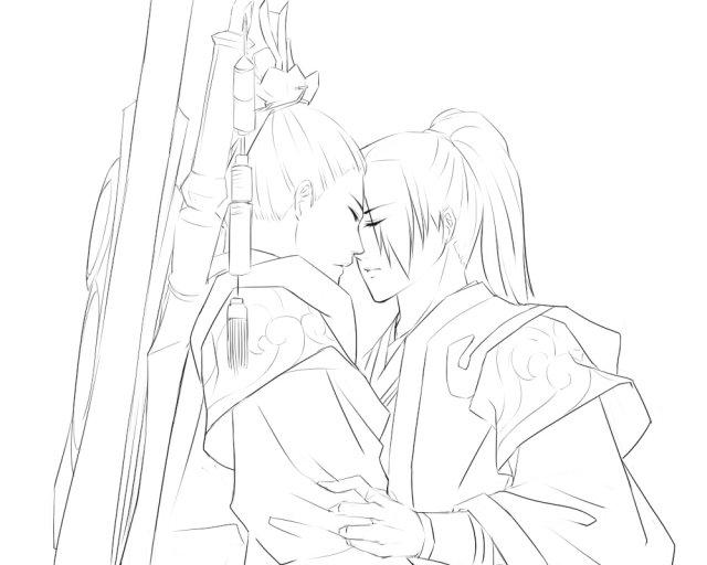 剑网三人物唯美手绘图