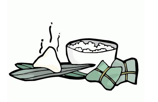 很可爱的卡通粽子