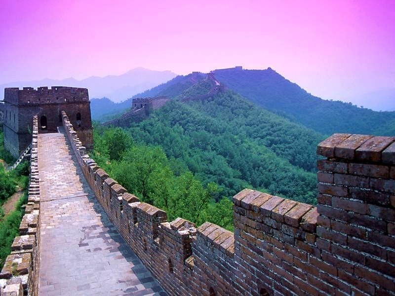【美丽的祖国】--长城    长城是我国古代劳动人民创造的伟大奇迹