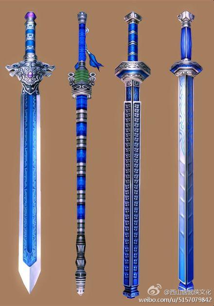 不向江湖寻剑仙《剑网3》剑类模型图赏