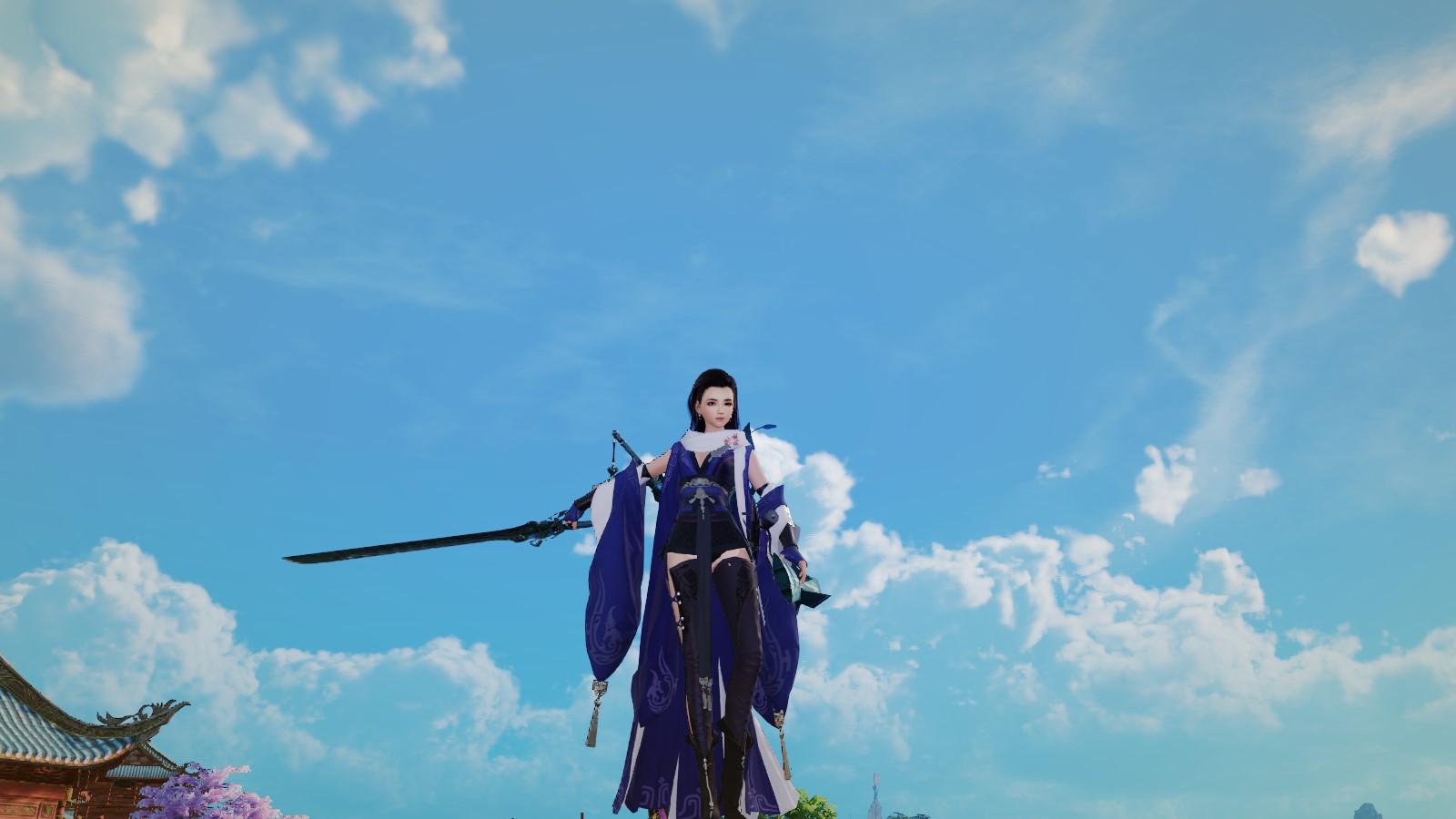 剑三的重置版,我觉得光是看风景我能看一年