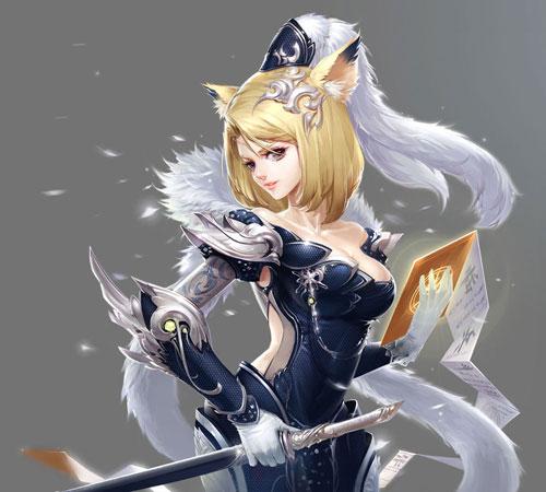 狐狸头像可爱唯美