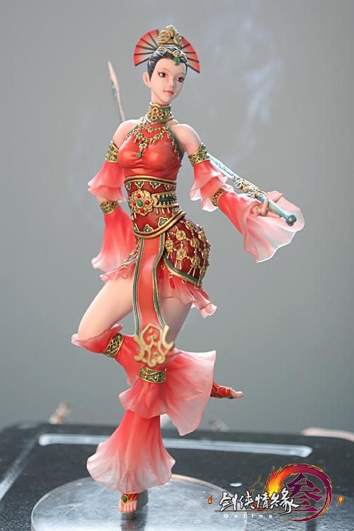 《剑网3》绝美七秀手办曝光(图) - 金山印象 - 金山印象