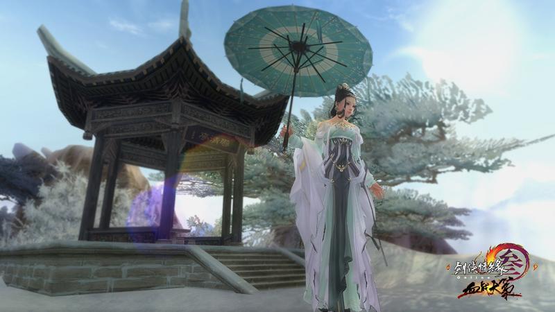 《剑网3》/(图3:华丽古风服饰)