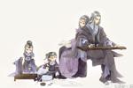 【万花】琴棋书画一家子