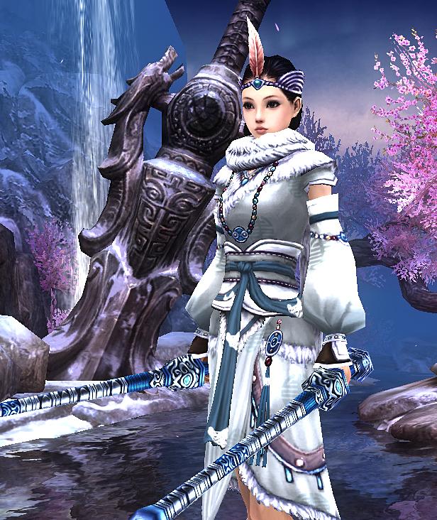 剑侠冬天风景图片