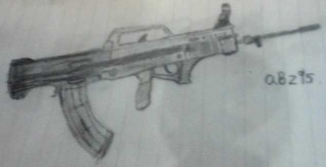 【手绘枪械】【非原创】