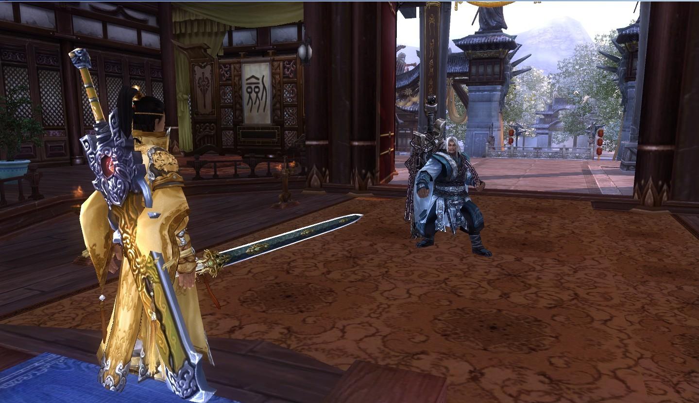 我终于会捏图了 献上处女作 - 藏剑山庄 - 剑侠情缘版
